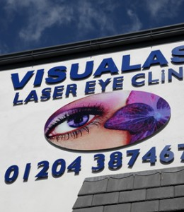 Visualase laser eye surgery clinic, Bolton, Greater Manchester.
