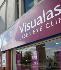 Laser eye surgery at Visualase, Bolton should only take 30 minutes.