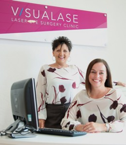 You'll receive a warm welcome from the team at Visualase laser eye surgery clinic.