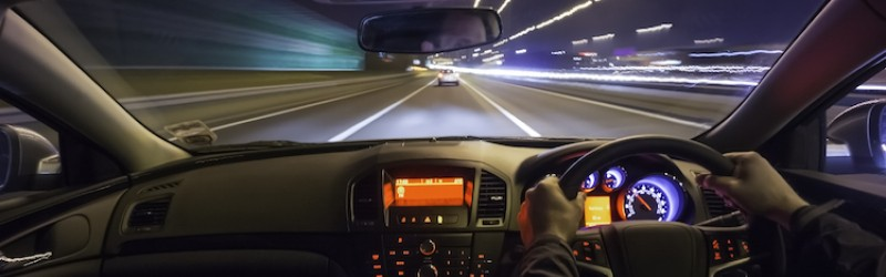 Tips to improve your eyesight whilst driving during the darker nights.
