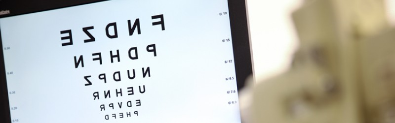 Laser eye surgery for reading vision