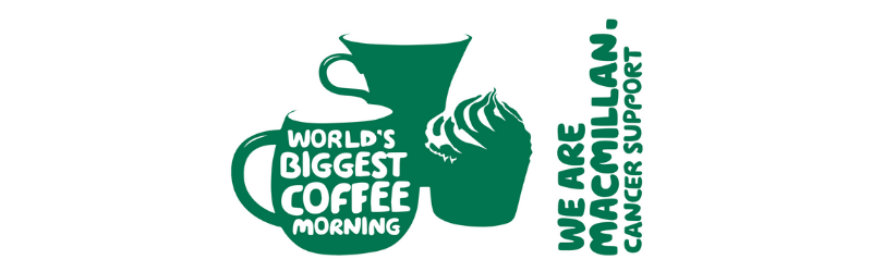 We're taking part in the World's Biggest Coffee Morning for Macmillan Cancer Support!