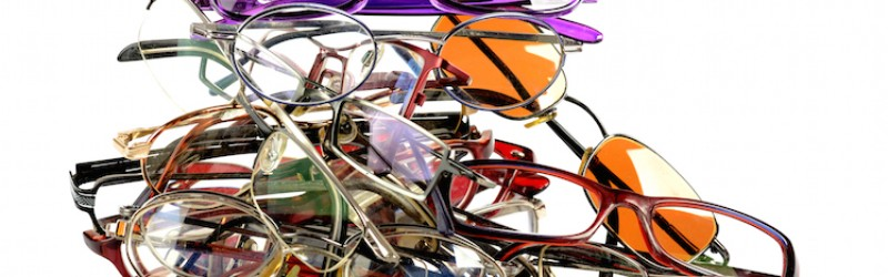 Visualase laser eye surgery patients donate their unwanted glasses to charity.