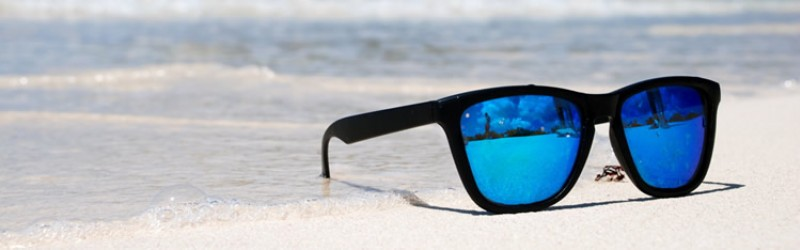 Protect your eyes with sunglasses this summer.