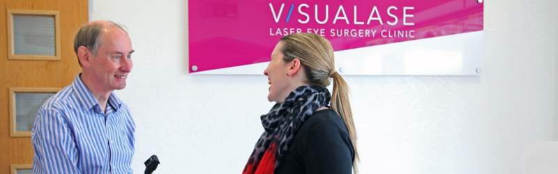 What will you experience when you have laser eye surgery?